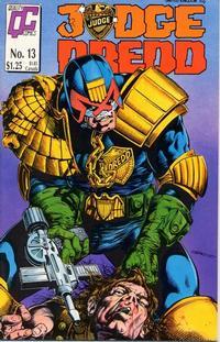 Cover Thumbnail for Judge Dredd (Fleetway/Quality, 1987 series) #13