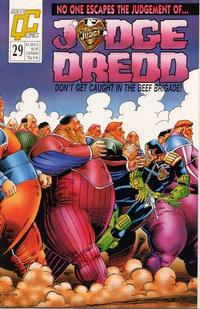 Cover Thumbnail for Judge Dredd (Fleetway/Quality, 1987 series) #29