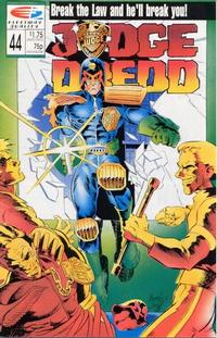 Cover Thumbnail for Judge Dredd (Fleetway/Quality, 1987 series) #44