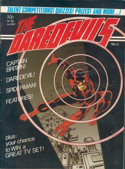 Cover for The Daredevils (Marvel UK, 1982 series) #3