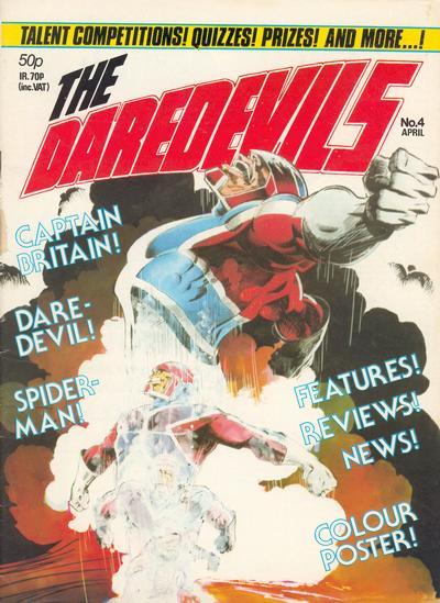 Cover for The Daredevils (Marvel UK, 1982 series) #4