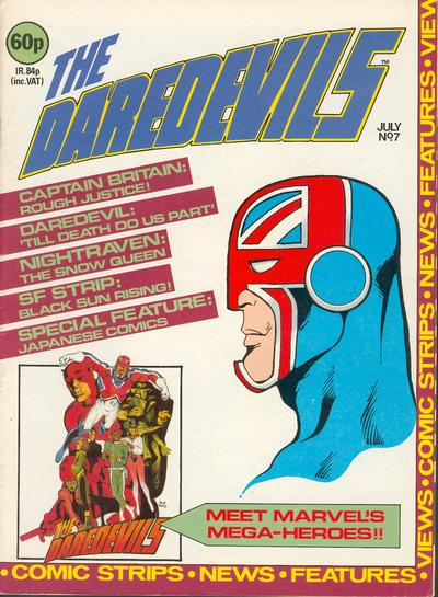 Cover for The Daredevils (Marvel UK, 1982 series) #7