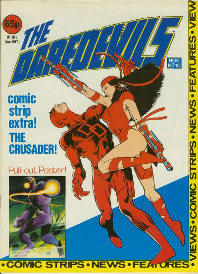 Cover for The Daredevils (Marvel UK, 1982 series) #10