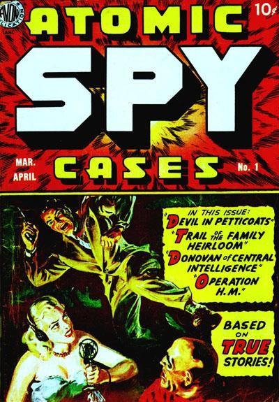Cover for Atomic Spy Cases (Avon, 1950 series) #1