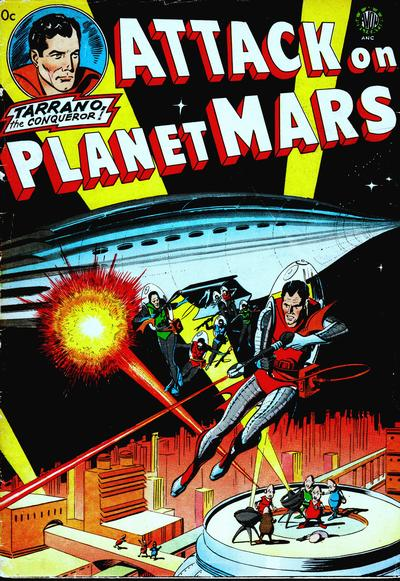 Cover for Attack on Planet Mars (Avon, 1951 series)