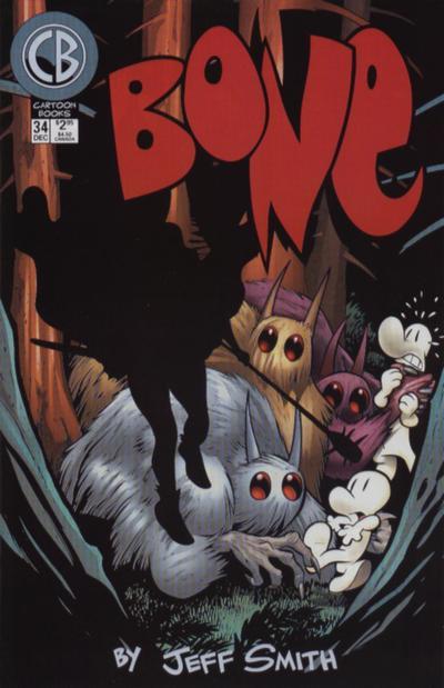 Cover for Bone (Cartoon Books, 1997 series) #34
