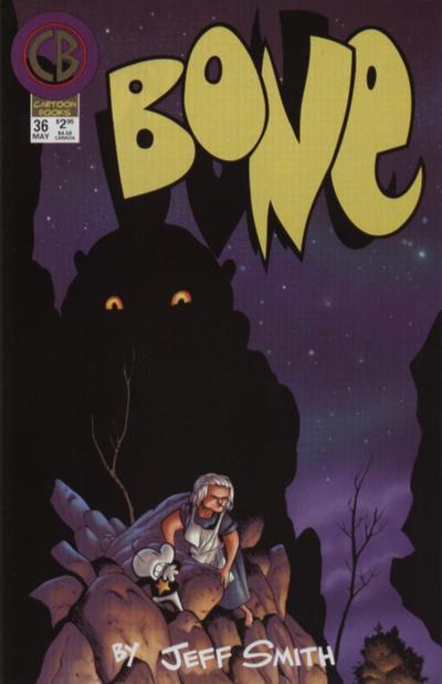 Cover for Bone (Cartoon Books, 1997 series) #36