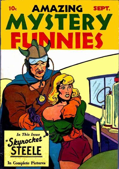Cover for Amazing Mystery Funnies (Centaur, 1938 series) #v1#2