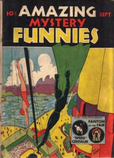 Cover for Amazing Mystery Funnies (Centaur, 1938 series) #v2#9