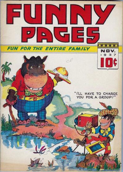 Cover for Funny Pages (Ultem, 1937 series) #v2#3