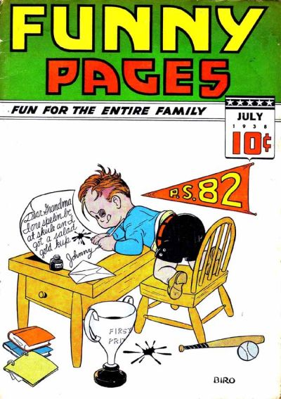 Cover for Funny Pages (Centaur, 1938 series) #v2#9