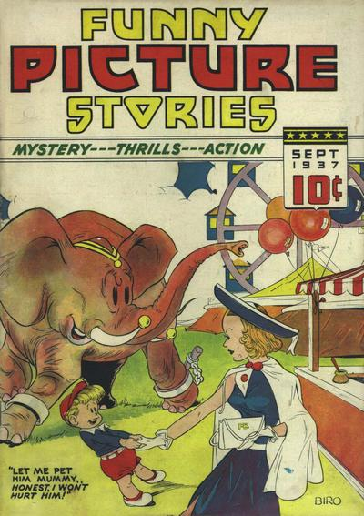 Cover for Funny Picture Stories (Ultem, 1937 series) #v2#1