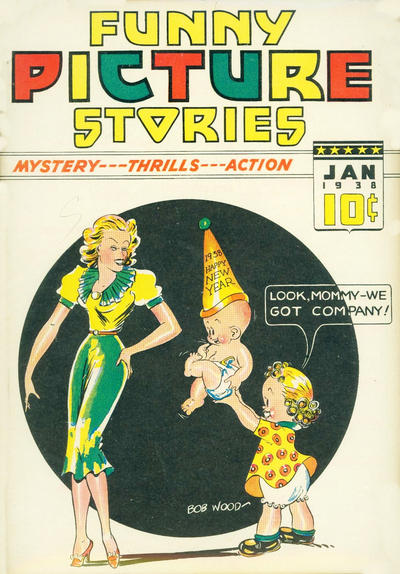 Cover for Funny Picture Stories (Ultem, 1937 series) #v2#5