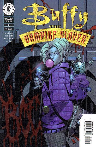 Cover for Buffy the Vampire Slayer (Dark Horse, 1998 series) #2 [Photo Cover]
