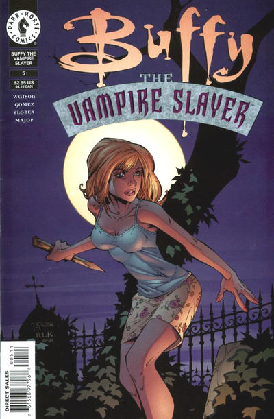 Cover for Buffy the Vampire Slayer (Dark Horse, 1998 series) #5