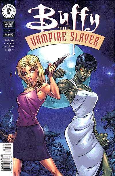 Cover for Buffy the Vampire Slayer (Dark Horse, 1998 series) #9 [Art Cover]