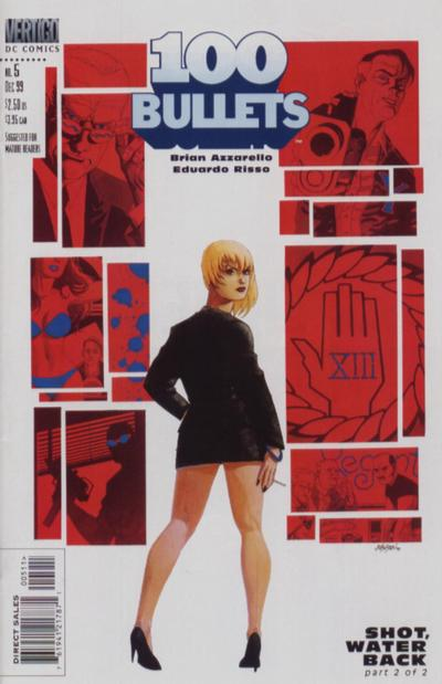 Cover for 100 Bullets (DC, 1999 series) #5