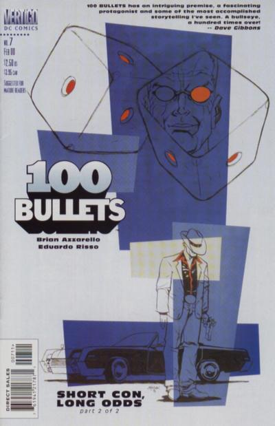 Cover for 100 Bullets (DC, 1999 series) #7