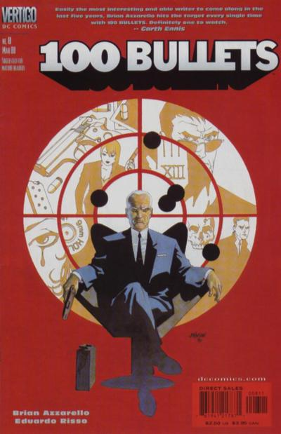 Cover for 100 Bullets (DC, 1999 series) #8