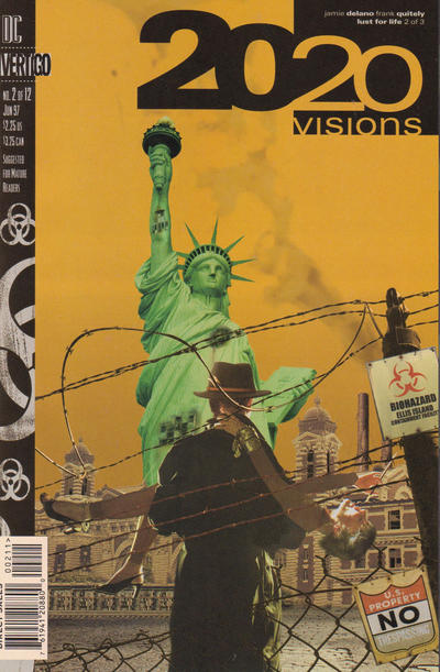 Cover for 2020 Visions (DC, 1997 series) #2