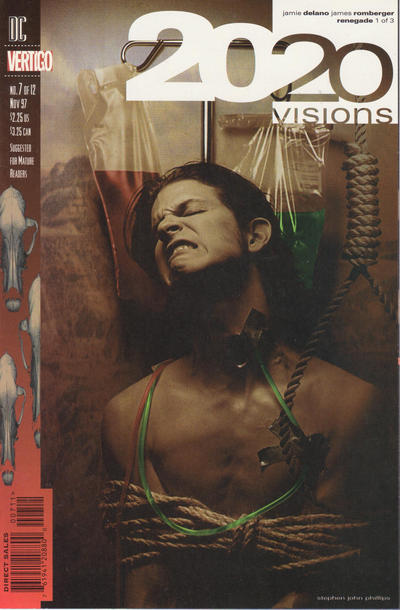 Cover for 2020 Visions (DC, 1997 series) #7