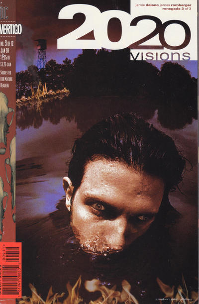 Cover for 2020 Visions (DC, 1997 series) #9
