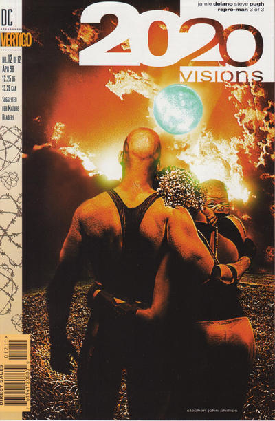 Cover for 2020 Visions (DC, 1997 series) #12