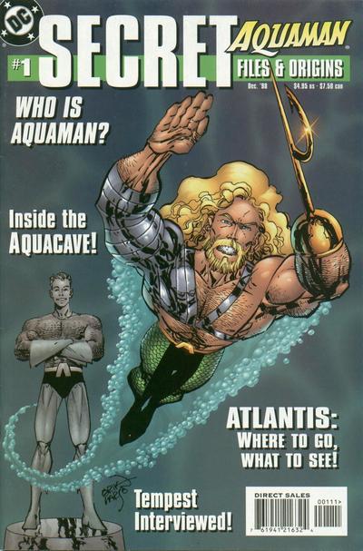 Cover for Aquaman Secret Files (DC, 1998 series) #1