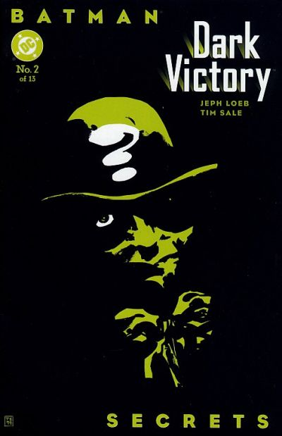 Cover for Batman: Dark Victory (DC, 1999 series) #2