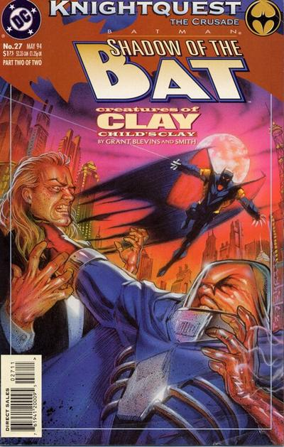 Cover for Batman: Shadow of the Bat (DC, 1992 series) #27
