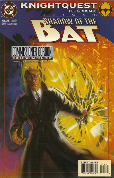Cover for Batman: Shadow of the Bat (DC, 1992 series) #28