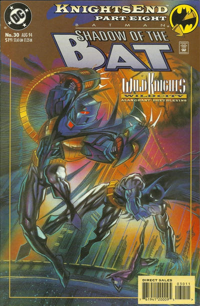 Cover for Batman: Shadow of the Bat (DC, 1992 series) #30