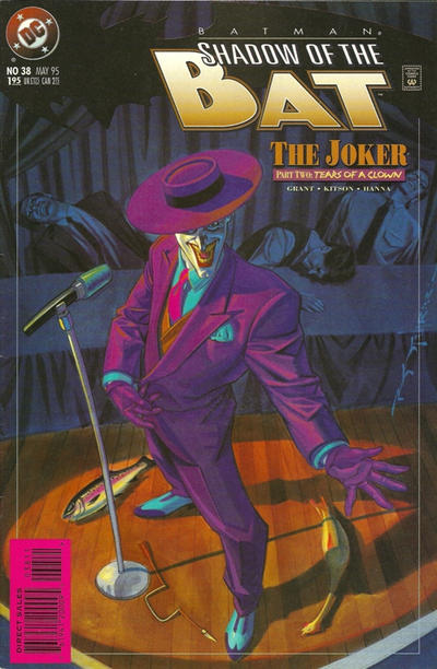 Cover for Batman: Shadow of the Bat (DC, 1992 series) #38