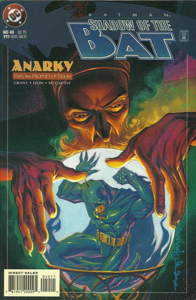 Cover for Batman: Shadow of the Bat (DC, 1992 series) #40