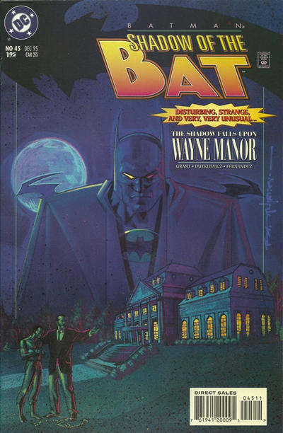 Cover for Batman: Shadow of the Bat (DC, 1992 series) #45
