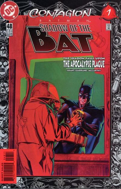Cover for Batman: Shadow of the Bat (DC, 1992 series) #48