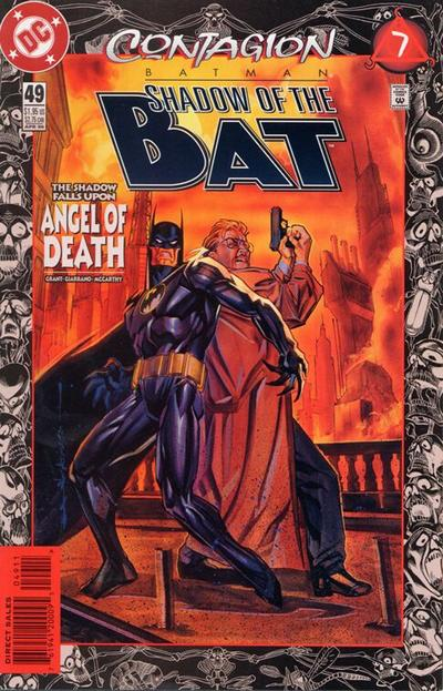 Cover for Batman: Shadow of the Bat (DC, 1992 series) #49