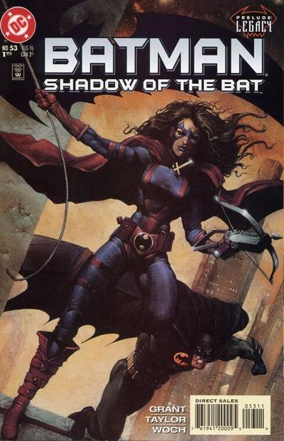 Cover for Batman: Shadow of the Bat (DC, 1992 series) #53