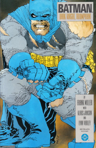 Cover for Batman: The Dark Knight (DC, 1986 series) #2 [Direct]