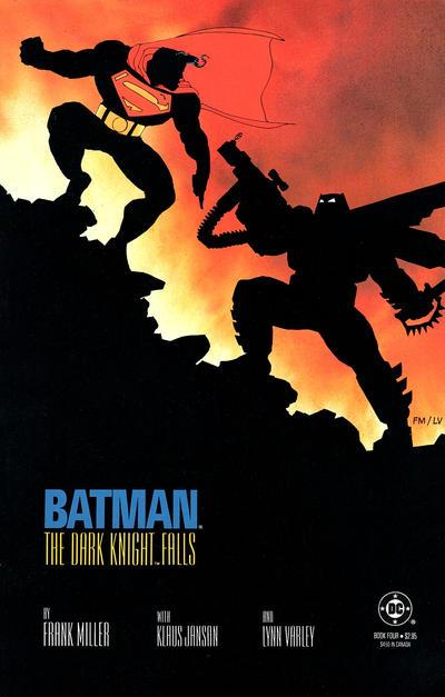 Cover for Batman: The Dark Knight (DC, 1986 series) #4