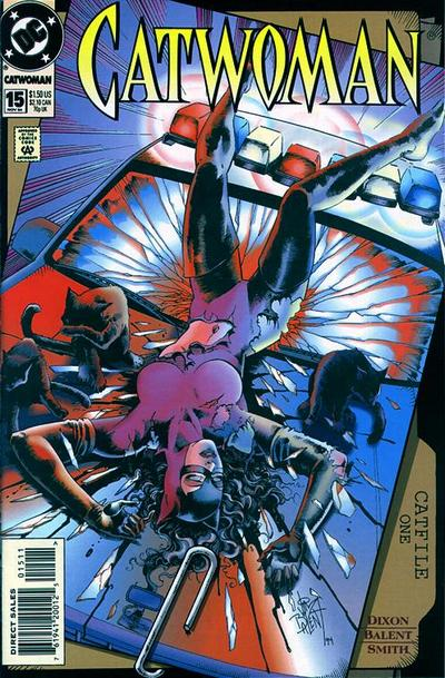 Cover for Catwoman (DC, 1993 series) #15 [Direct Edition]