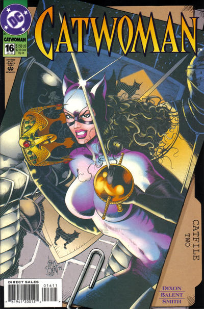 Cover for Catwoman (DC, 1993 series) #16 [Direct Edition]