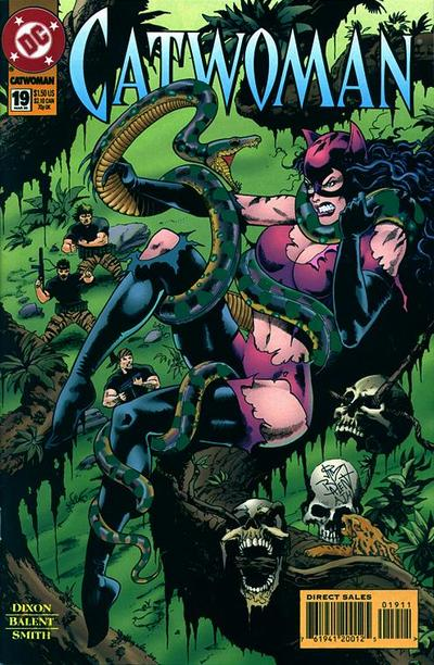 Cover for Catwoman (DC, 1993 series) #19 [Direct Edition]