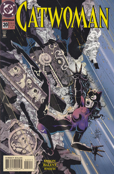 Cover for Catwoman (DC, 1993 series) #20