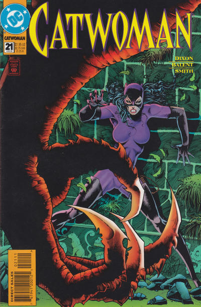 Cover for Catwoman (DC, 1993 series) #21 [Direct Edition]