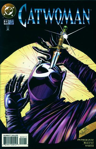 Cover for Catwoman (DC, 1993 series) #22 [Direct Edition]