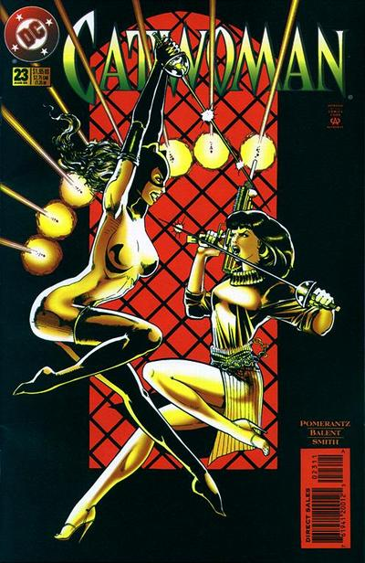Cover for Catwoman (DC, 1993 series) #23 [Direct Edition]