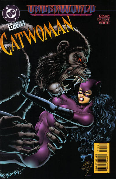 Cover for Catwoman (DC, 1993 series) #27 [Direct Edition]