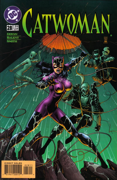 Cover for Catwoman (DC, 1993 series) #28 [Direct Edition]