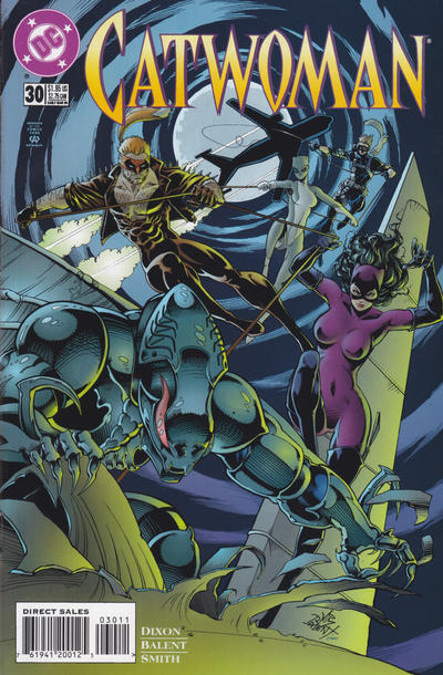 Cover for Catwoman (DC, 1993 series) #30 [Direct Edition]